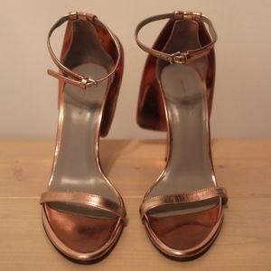 Rose Pink Alexander Wang Peep Toe Heels